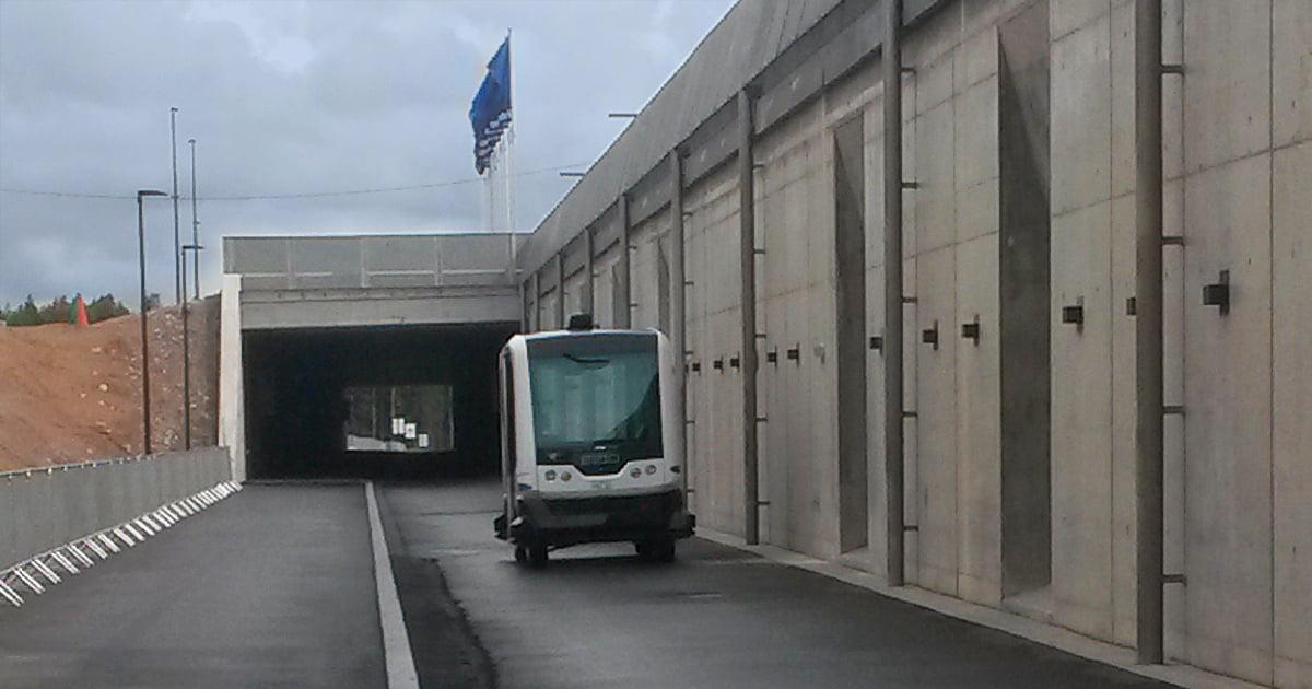 Kuskiton bussi Vantaan asuntomessuilla